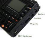 Tivdio V-115 Radio Portable FM Stéréo SW AM Lecteur MP3 Carte SD/TF Enregistreur Vocal Fonction Sommeil (Noir) de la marque Tivdio image 3 produit