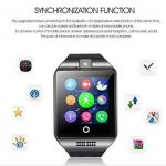 TKSTAR Montre intelligente téléphone, montre de suivi de l'activité, montre tactile, étanche, montre professionnelle, appareil photo en Bluetooth, prise en charge carte SIM TF, pour Android, Samsung, LG, Google Pixel et iPhone 7 / 7 plus / 6 / 6s / 6S plu image 3 produit