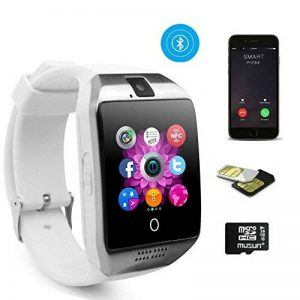 TKSTAR Montre intelligente téléphone, montre de suivi de l'activité, montre tactile, étanche, montre professionnelle, appareil photo en Bluetooth, prise en charge carte SIM TF, pour Android, Samsung, LG, Google Pixel et iPhone 7 / 7 plus / 6 / 6s / 6S plu image 0 produit