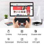 Télécommande Air Mouse, Vontar 2,4GHz Mini clavier sans fil avec gyro Mouse Motion Sensing Poignée de jeu télécommande pour Android TV Box/ordinateur portable/PC/Vidéoprojecteur/HTPC/IPTV/Media Player de la marque VONTAR image 2 produit