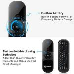 Télécommande Air Mouse, Vontar 2,4GHz Mini clavier sans fil avec gyro Mouse Motion Sensing Poignée de jeu télécommande pour Android TV Box/ordinateur portable/PC/Vidéoprojecteur/HTPC/IPTV/Media Player de la marque VONTAR image 3 produit