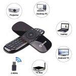Télécommande Air Mouse, Vontar 2,4GHz Mini clavier sans fil avec gyro Mouse Motion Sensing Poignée de jeu télécommande pour Android TV Box/ordinateur portable/PC/Vidéoprojecteur/HTPC/IPTV/Media Player de la marque VONTAR image 4 produit
