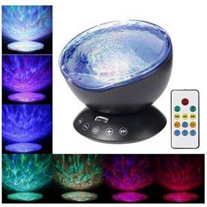 Télécommande Ocean Wave Vidéoprojecteur/7modes à changement de couleur LED Lumière de nuit avec lecteur de musique Intégré/chambre à coucher/chambre Chambre d'enfant bébé/salon de la marque Projector image 0 produit