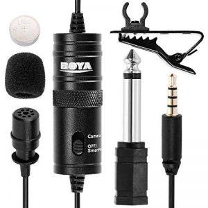 Tonor cravate/Lepel Mini Microphone omnidirectionnel à Mic pour Smartphons & DSLR, Camcoderders pour Audio & enregistrement vidéo de la marque Tonor image 0 produit