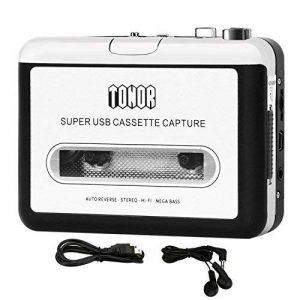 Tonor Portable de Cassette audio à MP3 convertisseur avec écouteurs CD Quickstar de la marque Tonor image 0 produit