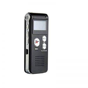 TOOGOO(R) 8GB LCD 650Hr Audio Numerique Enregistreur Dictaphone MP3 Rechargeable Espion de la marque TOOGOO(R) image 0 produit