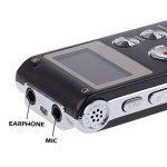 TOOGOO(R) 8GB LCD 650Hr Audio Numerique Enregistreur Dictaphone MP3 Rechargeable Espion de la marque TOOGOO(R) image 3 produit