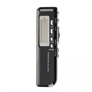 TOOGOO(R) Enregistreur vocal numerique 8 Go Dictaphone Lecteur MP3 650 Go Rechargeable Noir de la marque TOOGOO(R) image 0 produit