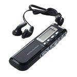 TOOGOO(R) Enregistreur vocal numerique 8 Go Dictaphone Lecteur MP3 650 Go Rechargeable Noir de la marque TOOGOO(R) image 1 produit