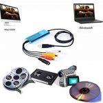 Top-Longer Video Capture Convertiseur de Vidéo Analogique en Numérique Mac OS 10.12 & Windows 10 -Enregistreur Convertisseur de Vidéo/Audio -Bleu de la marque Top-Longer image 2 produit