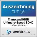 Transcend TS16GSDHC10U1 Carte mémoire Secure Digital High-Capacity (SDHC) de la marque Transcend image 3 produit