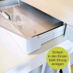 Transparents haute qualité OfficeTree® pour rétroprojecteur - 50 feuilles - Format A4 - Imprimante laser, photocopieur, rétroprojecteur - pour une qualité d'impression et de projection optimale de la marque OfficeTree image 3 produit