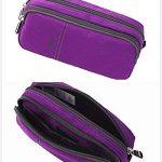 Trousses, Trousse Scolaire Grande (Violet) de la marque HiChange image 4 produit