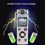 trustin portable rechargeable 8GB Digital Audio Enregistreur vocal professionnel avec double système d'alimentation Dictaphone MP3Player de la marque TRUSTIN image 4 produit