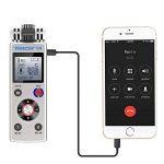 trustin portable rechargeable 8GB Digital Audio Enregistreur vocal professionnel avec double système d'alimentation Dictaphone MP3Player de la marque TRUSTIN image 3 produit