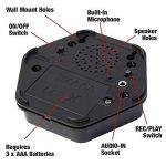 Tuile parlante, enregistreur vocal, 80 secondes, Noir de la marque Talking Products Ltd image 1 produit