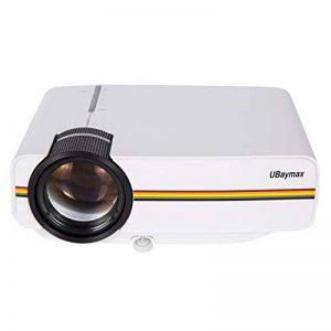 UBaymax Mini Vidéo Projecteur 1200 Lumens Projecteur LCD Portable 1080P Blanc de la marque UBaymax image 0 produit
