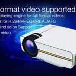 UBaymax Mini Vidéo Projecteur 1200 Lumens Projecteur LCD Portable 1080P Blanc de la marque UBaymax image 1 produit