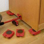 Ubei élévateur de meubles pour appareil portable Calculs pour meubles en appareil Mover Ensemble de transport pour Home Rouge de la marque Ubei image 4 produit