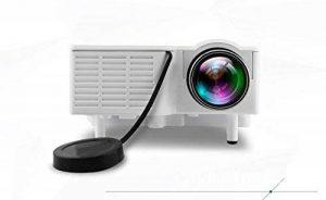 UC28 Mini Projecteur LED Peut Lire U Disque, Disque Dur Mobile, Carte SD, Ordinateur De Connexion HDMI, AV Même DVD, Set-Top Box, Miniature HD Projecteur De Poche, Blanc de la marque image 0 produit