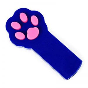 UEETEK Cat Toy Catch Interactive LED Light Beam Pointer Jouet pour animaux de compagnie Exercise Scratch Training Tool (Bleu) de la marque UEETEK image 0 produit