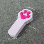 UEETEK Patte Style chat Catch l'Interactive LED lumière pointeur exercice Chaser jouet animal gratter outil de formation de la marque UEETEK image 3 produit