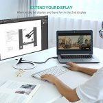 UGREEN Câble DisplayPort vers HDMI 4K UHD Adaptateur DP vers HDMI 1080P Connecteus Plaqués Or pour Dell, Thinkpad, Carte Graphique, GeForce vers TV, Télé, Projecteur, Moniteur (3 M) de la marque UGREEN image 3 produit