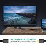 UGREEN Cble HDMI Mle vers Femelle Extension Rallonge HDMI Cble 4K 3D pour PC HDTV TV Stick PS4 PS3 TV Box Lecteur Blu-Ray DVD Mointeur Projecteur (0,5 M) de la marque UGREEN image 1 produit