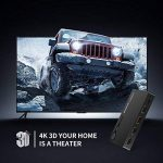 UGREEN Switch HDMI Commutateur 3 Entrées à 1 Sortie Télécommande IR 4K 1080P Full HD 3D Supporte PC PS4 PS3 Xbox Lecteur Blu-ray TV Box HDTV DVD Écran Projecteur de la marque UGREEN image 3 produit