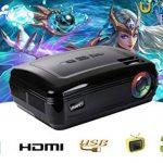 UHAPPY Accueil HD projecteur 3200 lumens 1080P Durée de vie de 20000 heures LED Bureau Rétro-projecteur de la marque GAOHAILONG image 4 produit