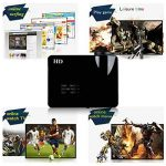 Uhappy H2 Projecteur HD 720P 1280 * 768 Résolution Projecteur Vidéo Sans Fil Vidéoprojecteur WIFI Android HDMI / USB / SD / ATV / AV / VGA Cinéma Maison - Noir de la marque UHAPPY image 4 produit