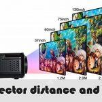 UKSoku U90 Mini Portable Projecteur HD 1080P 3000 lumens LED Vidéoprojecteur Micro Home Theater Support 1080P Movies Games iPhone Android Smartphone PC Laptop TV Box PS4 xbox360 HDMI USB SD (Black) de la marque UKSoku image 2 produit