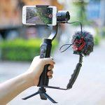 Ulanzi Mini trépied support pour Selfie Stick monopode Stabilisateur sur téléphone portable appareils photo reflex numériques, support de bureau pliable portable pour vidéoprojecteur pour Zhiyun lisse Q Feiyu Cardan de la marque Ulanzi image 1 produit