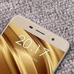 """Ulefone S8 Pro - 5,3"""" 4G FDD-LTE Smartphone, Android 7,0 Quad Core 2Go+16Go, Caméras Arrière Double 13MP+5MP et Avant 5MP, Double SIM, Scanner D'empreintes Digitales, Téléphones Portables Débloqués, Or de la marque Ulefone image 3 produit"""