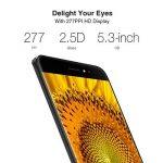 Ulefone S8 Specs Smartphone Débloqué téléphone portable mobile intelligent avec écran 5.3-pouce HD In-cell,Android 7.0,caméra arrière à double LED et lumière douce avant selfie flash,2Go RAM 16 Go ROM,MediaTek MT6580 Quad core 1.3Ghz,Armature en métal,Dua image 4 produit