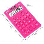 Ultrathin Puissance 12 Calculatrice Double Digits bureau, écran LCD, Light Blue de la marque Blancho image 1 produit