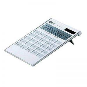 Ultrathin Puissance 12 chiffres Calculatrice de bureau double, écran LCD, Blanc de la marque Blancho image 0 produit