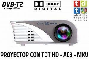 Unicview SG100 Projecteur avec tuner TDT, ports USB, HDMI, VGA, transcodeur Dolby AC3 de la marque Unicview image 0 produit