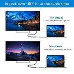 USB 3.0vers HDMI Convertisseur vidéo HD 1080p avec Sortie Audio de Plusieurs moniteurs pour Ordinateur Portable HDTV TV PC avec Windows XP/7/8/8.1/10[No Mac et Vista] argenté de la marque Elecjoy image 3 produit