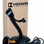 USB Laser automatique lecteur de codes scanner de codes-barres avec un support, Support réglable noir de Windows PC portable de la marque HDWR image 3 produit