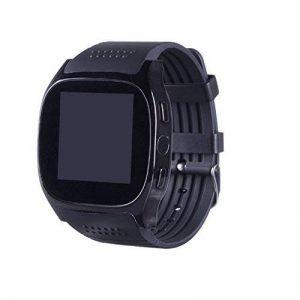 UxradG Bluetooth Smart Watch Homme Femme T8m de Surveillance de Fréquence Cardiaque Pression Artérielle Fitness Tracker Montre Intelligente avec Caméra PK Sport podomètre Montre Bracelet de la marque UxradG image 0 produit
