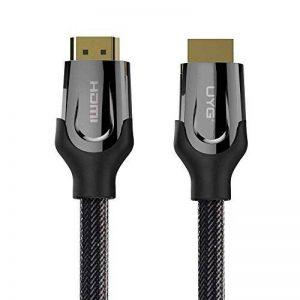 Uyg câble HDMI vers HDMI tressé en Alliage de Zinc câble HDMI 2.04K 1080p 3D pour PS3Vidéoprojecteur HD LCD Apple TV Câbles d'ordinateur 10M de la marque UYG image 0 produit