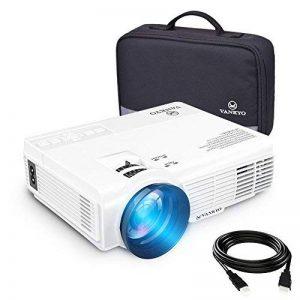 VANKYO LEISURE 3 Vidéoprojecteur Portable 2200 Lumens LED (Nouvelle Version) Rétroprojecteur LCD Soutien HD 1080p et 170 '' Affichage pour HDMI, AV et VGA Compatible avec Fire TV Stick / Laptop / DVD / PS3 / Xbox / TV box Via Entrée HDMI pour Cinéma Privé image 0 produit