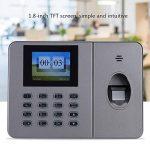 VBESTLIFE Caisse Enregistreuse, Machine de Fréquentation biométrique de Temps d'empreinte Digitale Machine d'assistance de l'empreinte Digitale de Bureau C27 110-240V(EU) de la marque VBESTLIFE image 2 produit