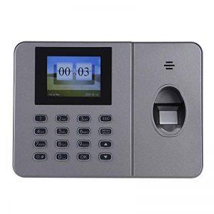 VBESTLIFE Caisse Enregistreuse, Machine de Fréquentation biométrique de Temps d'empreinte Digitale Machine d'assistance de l'empreinte Digitale de Bureau C27 110-240V(EU) de la marque VBESTLIFE image 0 produit