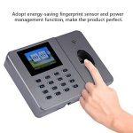 VBESTLIFE Caisse Enregistreuse, Machine de Fréquentation biométrique de Temps d'empreinte Digitale Machine d'assistance de l'empreinte Digitale de Bureau C27 110-240V(EU) de la marque VBESTLIFE image 3 produit
