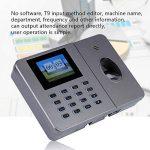 VBESTLIFE Caisse Enregistreuse, Machine de Fréquentation biométrique de Temps d'empreinte Digitale Machine d'assistance de l'empreinte Digitale de Bureau C27 110-240V(EU) de la marque VBESTLIFE image 4 produit