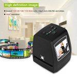 VBESTLIFE Scanner de Films et Diapositives, Portable Haute Résolution Films Super 8,Films s110/126, 35mm Convertisseur de Film pour Numérique.(noir) de la marque VBESTLIFE image 2 produit