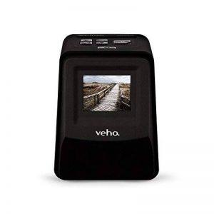 """Veho Smartfix Portable Stand Alone Scanneur de film et de diapositives négatifs de 14 mégapixels avec écran numérique 2,4 """"et tiroir coulissant 135 pour points 135/110/126 compatibles avec Mac / PC - noir (VFS-014-SF) de la marque Veho image 0 produit"""