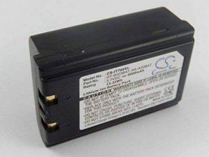 vhbw Li-ION Batterie 3600mAh(3.7V) pour Lecteur de Codes-Barres,Terminal de Poche,PDA, POS Symbol SPT1746, SPT1800, SPT1833, SPT1834 comme 20-36098-01. de la marque vhbw image 0 produit